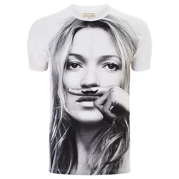 313b886ff Eleven Paris Shirts   Kate Moss Life Is A Joke Tshirt   Poshmark